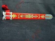 Vintage 1950s - MATTEL Metal Prince Valiant Sword Holder Scabbard W/ Holder