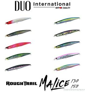 Duo Rough Trail Malice 130/150 Sinking Jig Minnow Lure - Select Size/Color(s)