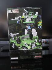 Transformers Masterpiece MAKETOYS MTRM-02N GUNDOG / MP HOUND Toon ver MISB