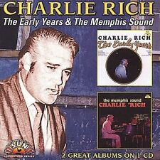 The Early Years/Memphis Sound by Charlie Rich (CD, Mar-2006, 2 Discs,NEW CD)