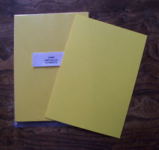 16 Sheets of A4 Yellow Card (280 Micron)