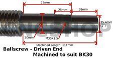 2000mm - 40mm MACHINED SINGLE NUT BALLSCREW BALL SCREW