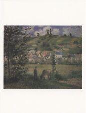 (18557) Postcard - Landscape of Chaponval by Camille P - VGC  Modern