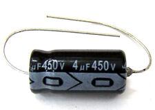 QTY 22 New MIEC 4UF 450V New 105C Axial Electrolytic Capacitors
