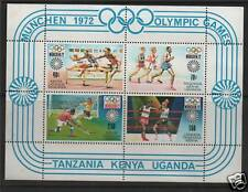 K.U.T. 1972 Olympic Games Munich SG MS 318 MNH