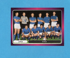 PANINI-EURO 2012-Figurina n.517- SQUADRA/TEAM - ITALIA 1968 -NEW-DARK BOARD