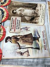 P1-1 Ephemera Article Annie Oakley Vs Lillian Smith Folded