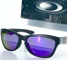 NEW* Oakley JUPITER LX in Matte BLACK frame w VIOLET Iridium Lens Sunglass