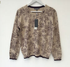 Laura Ashley Size 12 Jumper Sweater With Cashmere NEW £55
