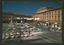 AD9759 Forlì - Città - Piazza A. Saffi - Notturno - Automobili nel parcheggio