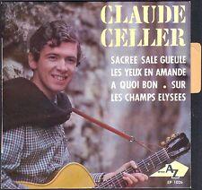 CLAUDE CELLER RAËL Gourou SECTE RAËLIEN Rare 1er 45T EP 1966 NEUF MINT LANGUETTE