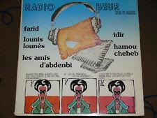V/A Idir/Hamou Cheyheb RADIO BEUR LP FRENCH ARABIC FOLK/POP/ROCK
