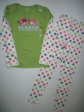 Gymboree Smart and Sweet Chicks Rule Tee Shirt Flower Leggings Set Girls 10 NWT