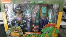 NECA Target Exclusive TMNT Slash Leatherhead Figure 2 Pack Ninja Turtles