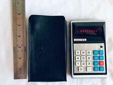 Vintage Unisonic 811L 8-Digit Pocketable Calculator Made in Japan