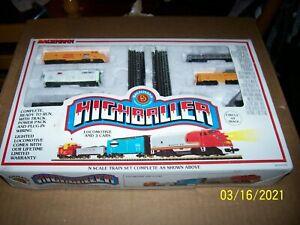 Vintage Bachman High Baller N Gauge Train set in Box