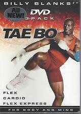 Billy Blanks - Tae Bo 3 Pack (DVD, 2005, 3-Disc Set)