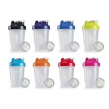 400ml Protein shaker mixer cup Portable Gym Sport Water Shaking Bottle us