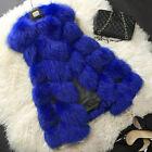 femme LUXUS hiver fausse fourrure gilet veste manteau VÊTEMENTS DE PLEIN AIR EN