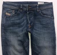 Mens DIESEL Darron Jeans W31 L32 Blue Regular Slim Tapered Wash 0RA80_STRETCH
