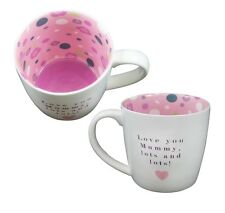Love You Mummy Lots & Lots Inside Out Mug In Gift Box Special Mugs Gifts Her