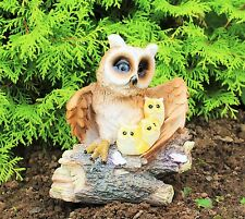 Solar Powered Decorative Garden Ornament Animal  Birds Bird  Owl Light Up