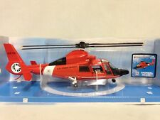 U.S. Coast Guard, Eurocopter HH 65C Dolphin Helicopter 1:48 Diecast, New Ray Toy