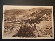 Postcard. Cochem, Mosel mit Pinner Kreuz. Posted to Bradford in 1932