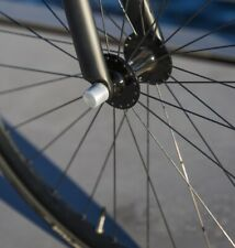 Antifurto cerchio ruota bici NutFix M10 Argento Solido Assale bicicletta