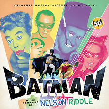 BATMAN: THE MOVIE (1966) La-La Land CD Ltd Ed Score SOUNDTRACK Nelson Riddle NEW