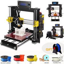 2018 Upgraded Quality High Precision Reprap Prusa i3 DIY 3d Printer USA