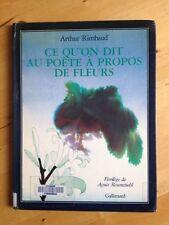 Ce Qu'on Dit Au Poete A Propos De Fleurs - Rimbaud