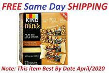 Kind Minis Variety Pk 36 ct Peanut Chocolate & Caramel Almond Sea Salt View EXPD