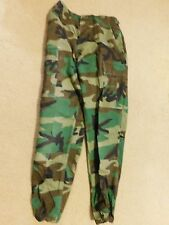"US  ARMY WOODLAND BDU PANTS SIZE SMALL-REGULAR  (29 x 30"")"