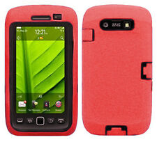 BlackBerry Torch 9850 9860 9570 IMPACT RESISTANT Rubberized Phone Case Cover