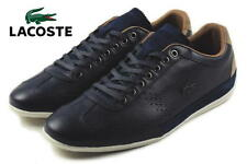 Lacoste Men's Misano 34 Navy Leather Sneakers Shoes