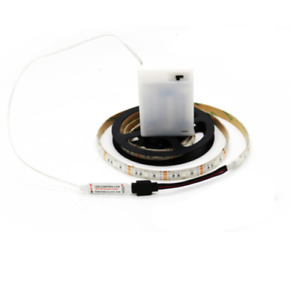 Batterie Betrieben LED 5050 RGB Strip Mehrfarbige Leiste Band