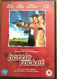 Bottle Rocket 1996 Wes Anderson Cult Crime Comedy Caper Classic w/ Owen Wilson