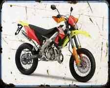 Derbi Senda Drd Pro A4 Photo Print Motorbike Vintage Aged