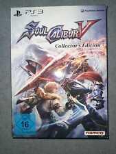 SoulCalibur V 5 Collector's Edition (Playstation 3) Spiel Game KOMPLETT