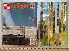 Revue LE TRAIN 1996 annee complete (locomotive wagon décor alimentation DCC)