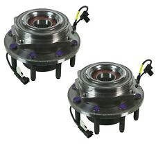 Pair Set 2 Front Moog Wheel Bearing Hub Assies Kit for Ford F-250 F-350 SD 4WD