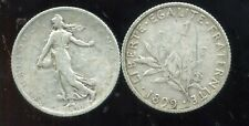 FRANCE  FRANCIA  1 franc semeuse 1899   ARGENT
