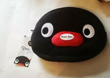 PINGU PLUSH PENCIL CASE WITH SQUEAKER NOSE SCHOOL STATIONERY PENGUIN PINGA FURRY