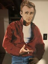 VINTAGE JAMES DEAN CARDBOARD CUTOUT 6 FEET TALL