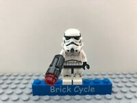 New Lego Stormtrooper Minifigure From Set 75262 20th Anniversary (sw0997b)