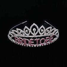 Bachelorette Party Bride-to-be Party Crowns Tiara Birdal Despedida de Soltera