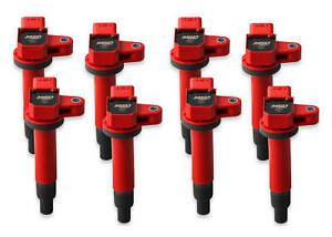 MSD Ignition Coils Blaster Fits 1998-2010 Toyota/Lexus 4.7L V8 Red 8pack 82218