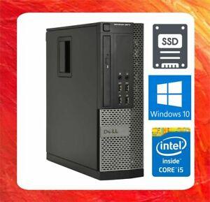DELL PC OPTIPLEX 9020 INTEL CORE I5 4590 @ 3.3GHZ 8GB 128GB SSD DVDRW WIN10