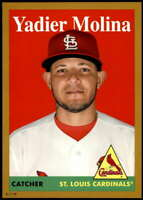 Yadier Molina 2019 Topps Archives 5x7 Gold #69 /10 Cardinals